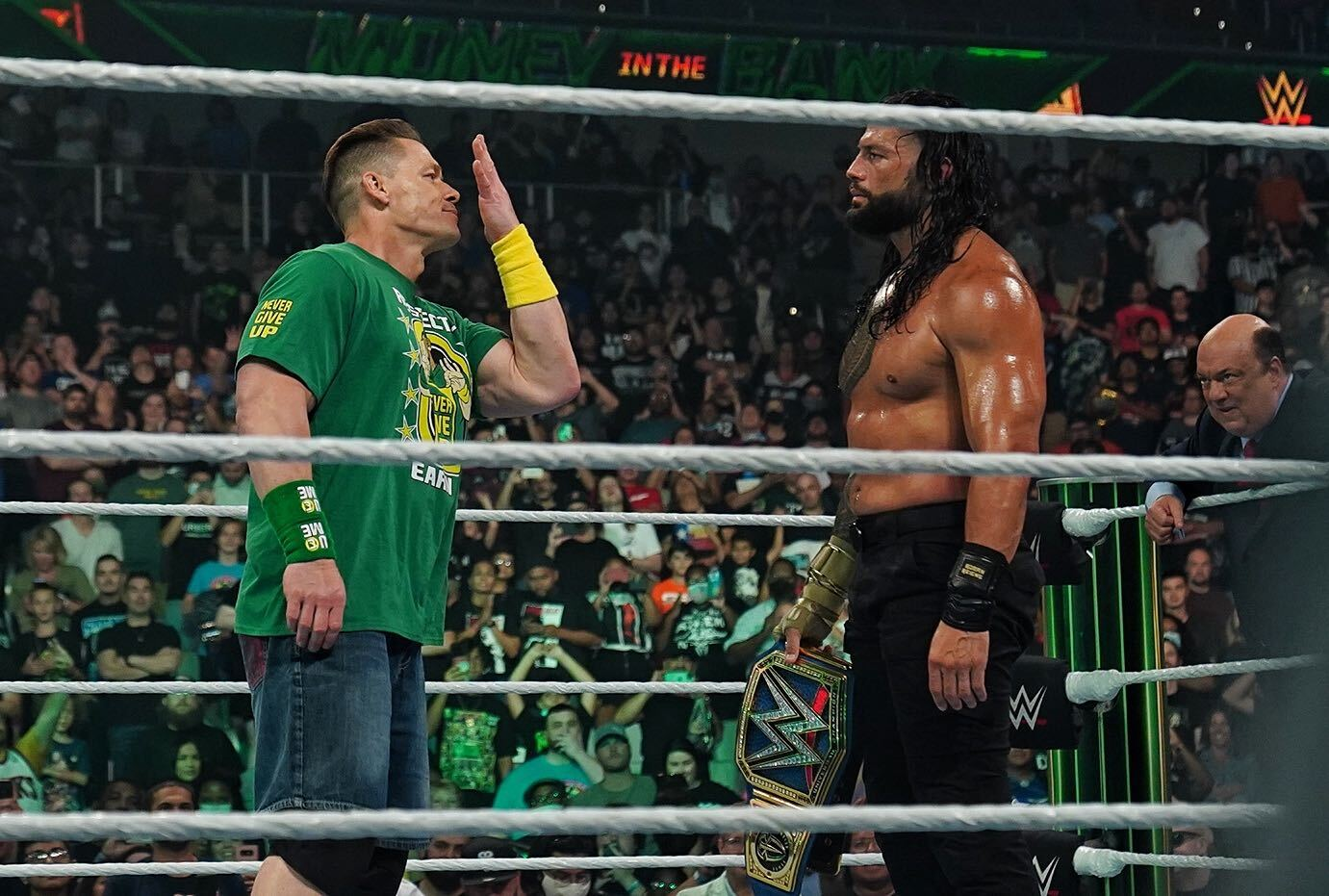 WWE Money In The Bank 2021: John Cena Returns To Confront Roman Reigns 85