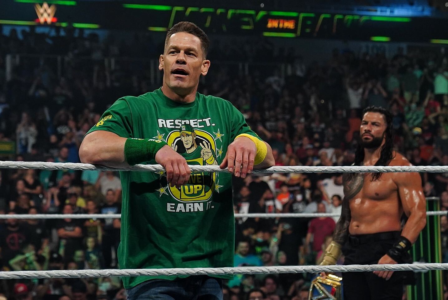 WWE Money In The Bank 2021: John Cena Returns To Confront Roman Reigns 86
