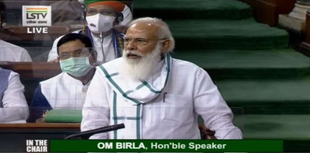 प्रधानमंत्री ने दोनों सदनों के नेताओं को महामारी से निपटने के लिए उठाए गए कदमों की जानकारी दी
