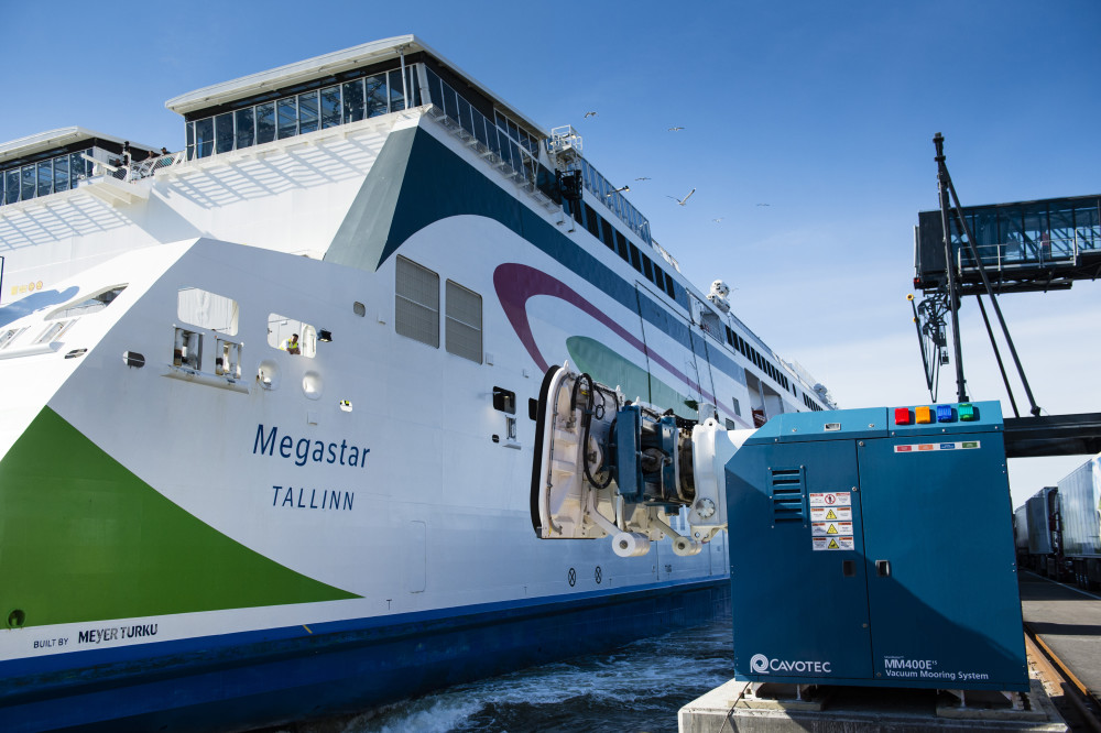 Automated mooring substantially reduces harmful emissions in Helsinki city centre #MoorMaster #vacuummooring #porttechnology #ports @PortOfHelsinki  https://t.co/oSFbnAN1RX https://t.co/QyBVcHVZKM