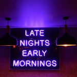 Image for the Tweet beginning: Early mornings, late nights and