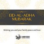 Image for the Tweet beginning: Eid-al-Adha Mubarak! Labelexpo wishes you