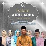 Image for the Tweet beginning: Salam Aidil Adha daripada Majlis