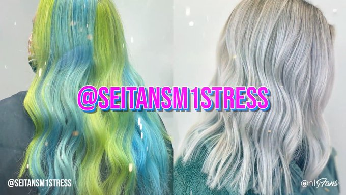 Save the date! 📆🔔 Licensed hairstylist and vegan chef @seitansm1stress is going LIVE on OnlyFans this