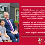 Image for the Tweet beginning: RGS The Grange believes that
