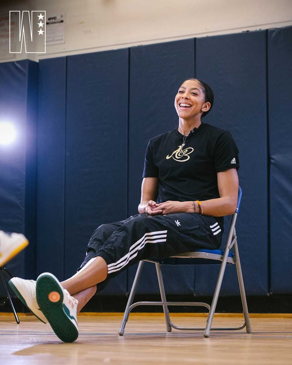 """""""If you're able to leave any type of change within SOMETHING I think you've established & developed a legacy & so I hope that I have made a difference and I have changed certain things that have always been."""" -@Candace_Parker X @wslam #MotivationMonday  Establish your legacy 🧡 https://t.co/po51PKXxMi"""