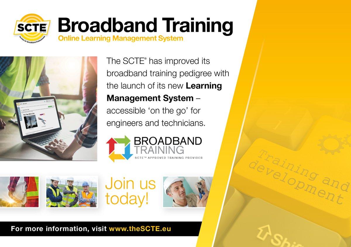 SCTE ® Society for Broadband Professionals