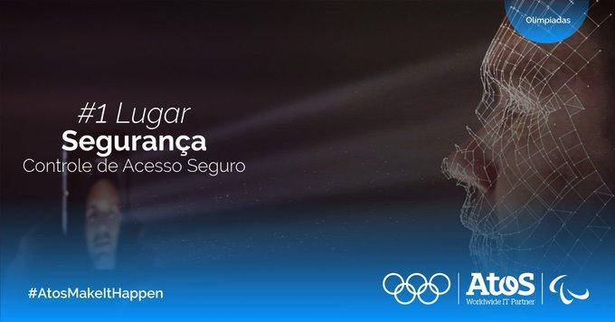 Medalha de Ouro para... #Segurança 🏅Pela primeira vez na história olímpica, um sistema de...