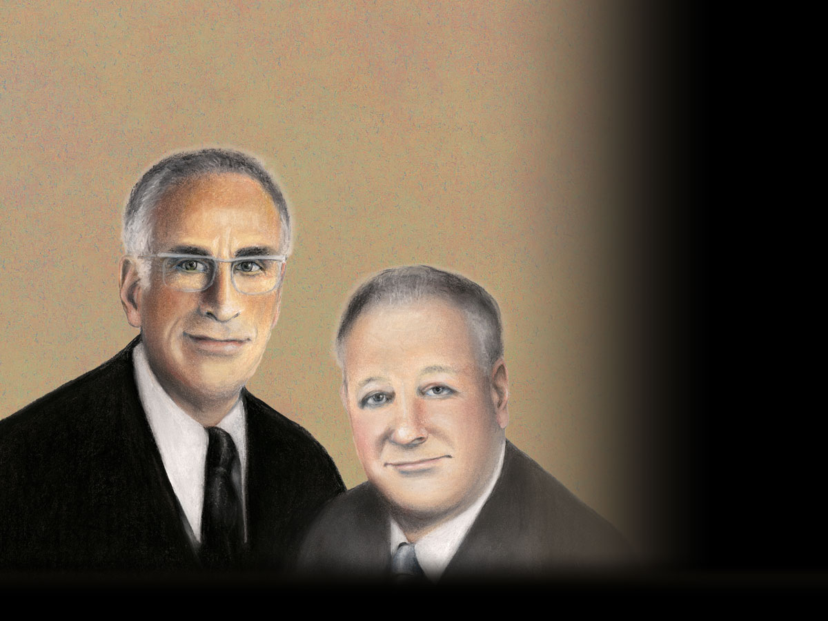 Two of the best economists of all time.  Armen Alchian & Harold Demsetz.