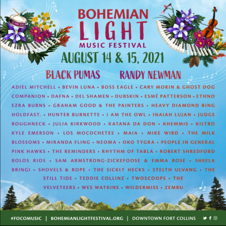We're playing the @bohemian_light Music Festival this August! Head here for more info: https://t.co/RSuWT1J9BZ 🌻 https://t.co/Dml9UlwQvG