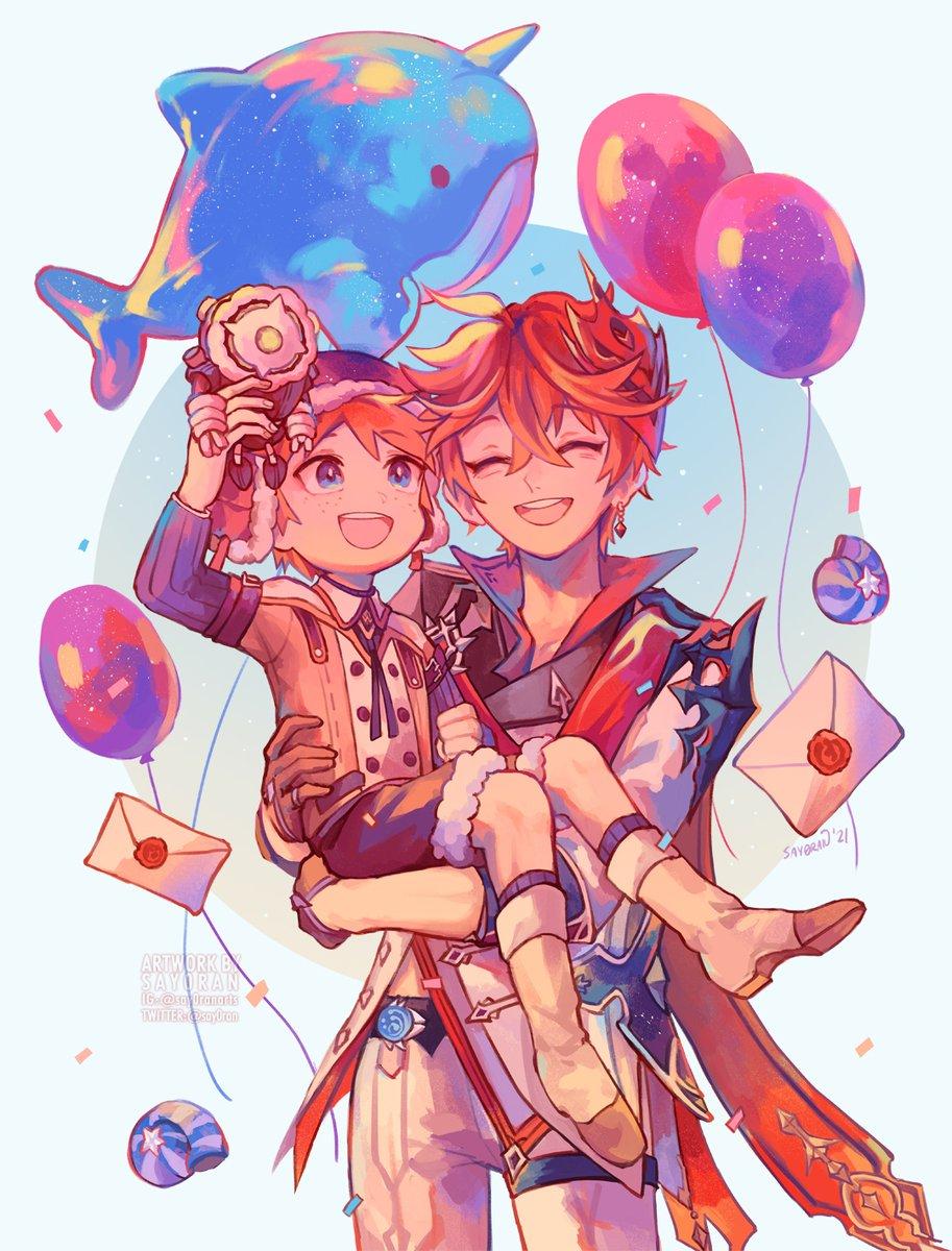 happy childe day!! ✨  #GenshinImpact #原神 #タルタリヤ生誕祭2021
