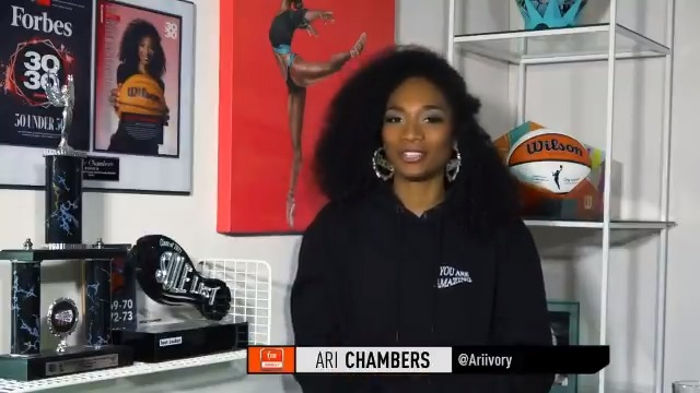 Ruthy Hebard has been showing out on the court this season 👏  Ari Chambers (@ariivory) explains why this @chicagosky star could be a contender for Most Improved Player. https://t.co/HtWfkmDr0N