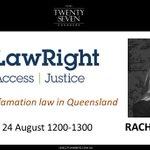 Image for the Tweet beginning: EVENT📅Leading #defamationlaw & #medialaw junior