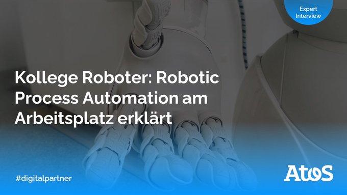 #RoboticProcessAutomation spart Zeit, Geld und optimiert Ihre Arbeitsprozesse. Doch welche...