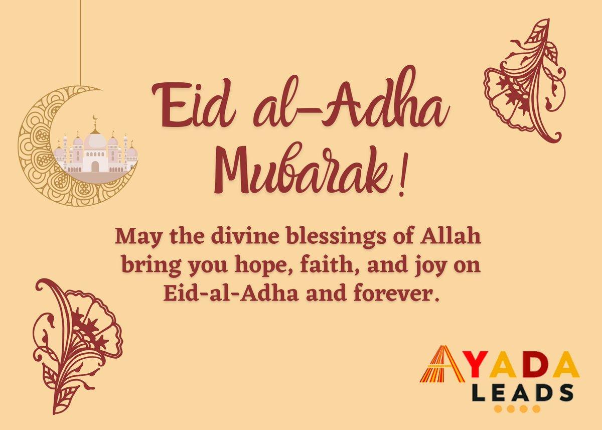 Wishing a blessed Eid al-Adha Mubarak to all those who celebrate! https://t.co/xcQ2p2r0cM
