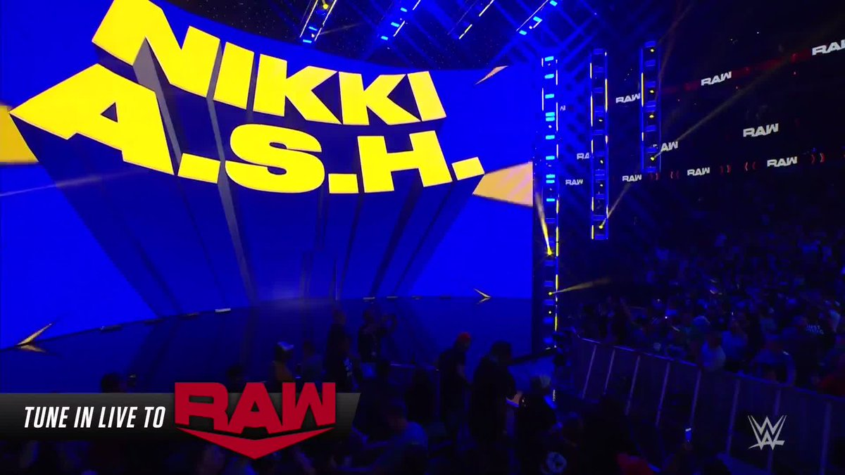NIKKI A.S.H JUST CASHED IN MONEY IN THE BANK AND IS THE NEW RAW WOMEN'S CHAMPION 🤯  (via @WWE) https://t.co/aqpr1bgofH