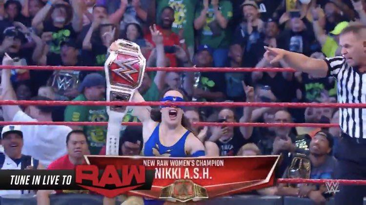 Wrestling World Reacts To Nikki A.S.H. Winning WWE RAW Women's Championship