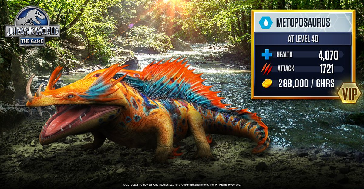 World vip code jurassic Jurassic World™: