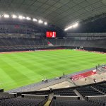 Image for the Tweet beginning: Sapporo dome with SISGRASS ready