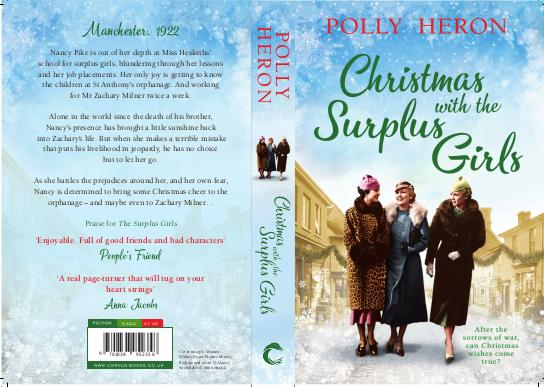 """Susanna Bavin/PollyHeron on Twitter: """"How about a taste of Christmas🎄 on  this scorching hot day🌞?! Proud to show you the full cover for Christmas  with the Surplus Girls, book 3 in #TheSurplusGirls"""