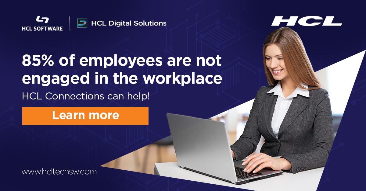 """Verlieren Ihre Mitarbeiter an Effizienz im digitalen Arbeitsplatz, weil sie lange Informationen suchen, weil sie Experten nicht finden oder weil sie Content jedes mal """"from Scratch"""" erstellen müssen? #HCLConnections hilft!  https://t.co/j4NsKocPP3"""