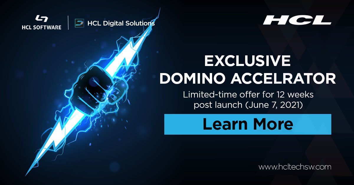 Only a few days to go to get licenses special offers on #HCLSametime & #HCLDomino12 #hclswlobp #nocode #lowcode #javascript #github #nodejs #cybersecurity #devops #machinelearning #Serverless #womenintech https://t.co/D16McltXQs