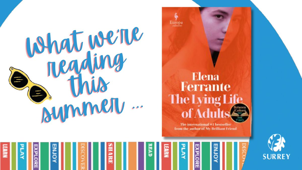 It's a been a fair few years since Elena Ferrante's Neapolitan Quartet novels rocked our world, but we think we're just about ready now for THE LYING LIFE OF ADULTS!  Available @SurreyLibraries👉https://t.co/My0zTbM46W #BetweenTheCovers  @EuropaEdUK https://t.co/IrPWPpDzW4