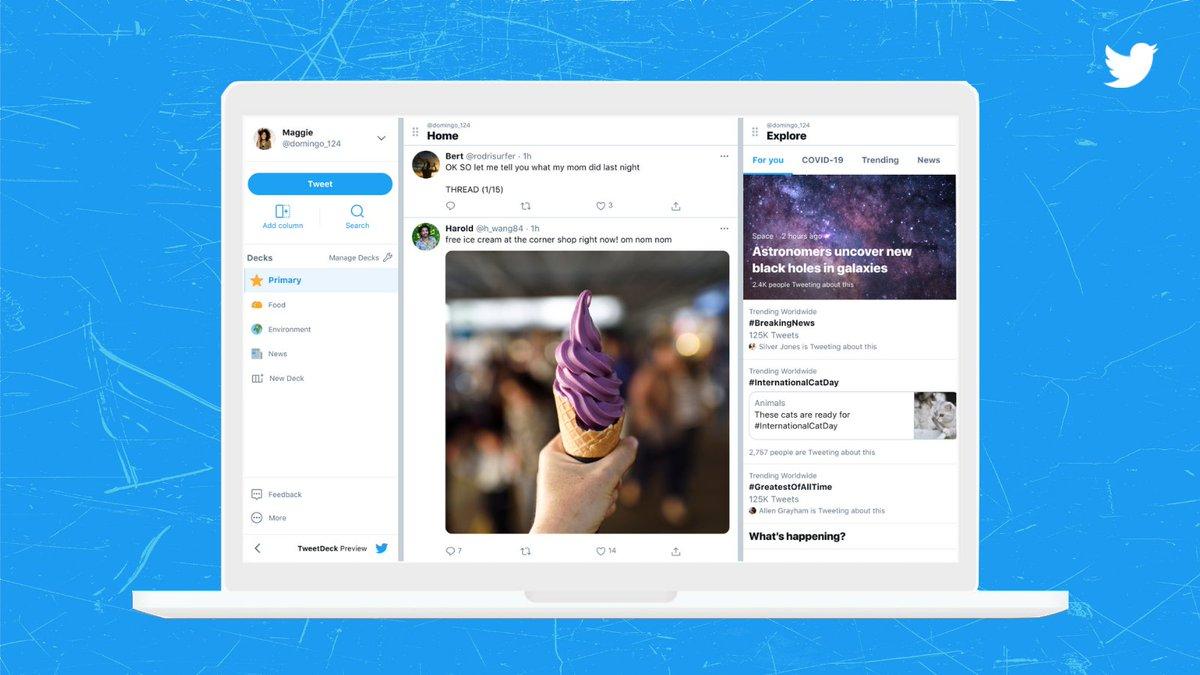 TweetDeck, Twitter Is Beta-Testing an Upgraded TweetDeck Version