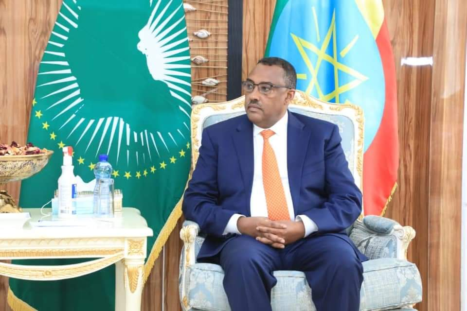 I met with @EUSR_Weber . Given Ethiopia's role as a linchpin of the volatile region I stressed that #EU should appreciate encouraging results & act in a positive manner instead of putting unnecessary pressure on the Ethiopian government. https://t.co/GqzoWmvWr7