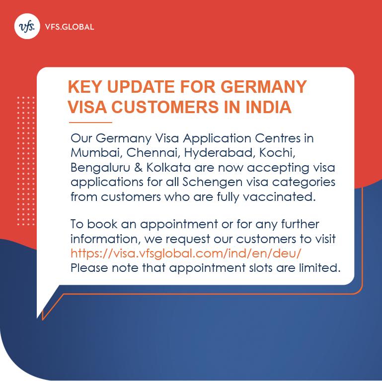Germany Visa Services Resumed