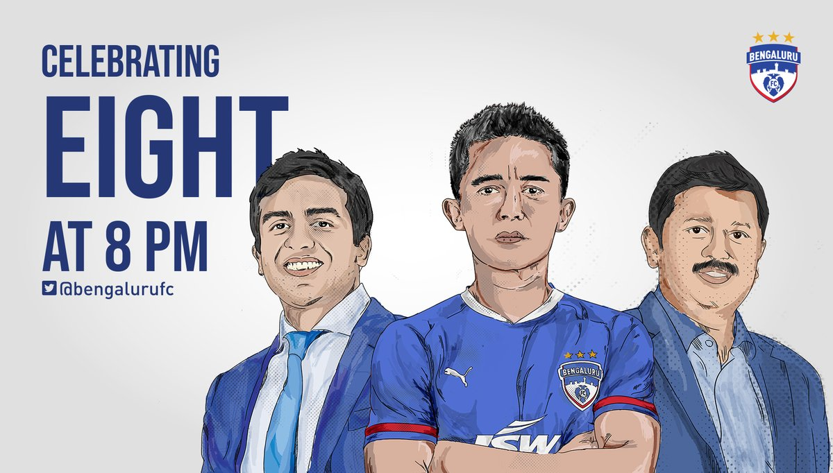 We're getting on the Twitter Spaces bandwagon! 🔥  Join Club Director @ParthJindal11, CEO @MandarTamhane1 and skipper @chetrisunil11 as they look back on 8⃣ years of BFC, tonight at 8 pm.   Send in your questions with the hashtag #AskBFC in the comments below. #BFCFoundationDay https://t.co/XlovUxDhEj