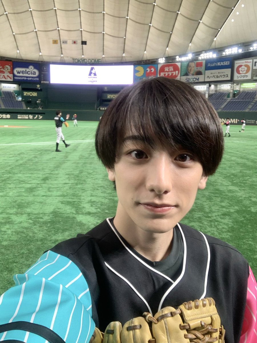 「ACTORS☆LEAGUE 2021」  ありがとうございました タイムリー、本当に嬉しかったです! 飛び出しちゃったけど笑 東京ドーム夢みたいでした  #アクターズリーグ