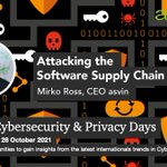 Image for the Tweet beginning: Attacking the Software Supply Chain
