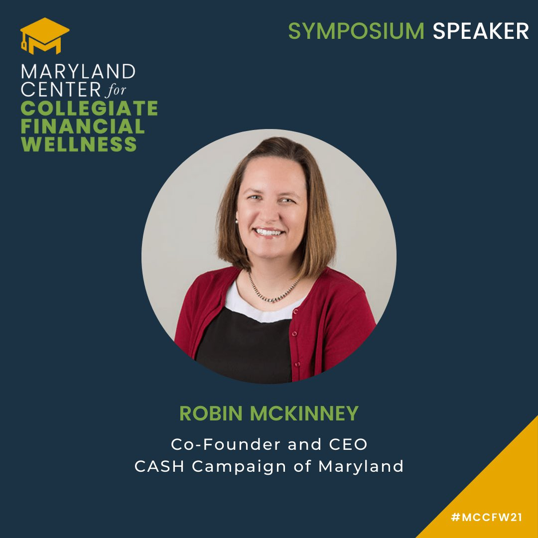 @DelDanaMStein1 Co-Chair of the Maryland Financial Education & Capability Commission is a strong advocate for the Center & spoke during the Symposium! https://t.co/dN5HOTYs5s