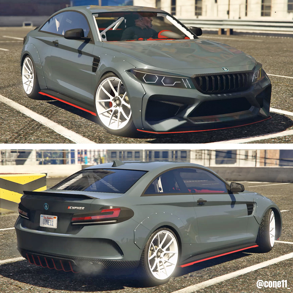 """CONE 11 on Twitter: """"https://t.co/20wgme2qgo GTA 5 Online: UBERMACHT CYPHER  (BMW M2) Customization & Test 