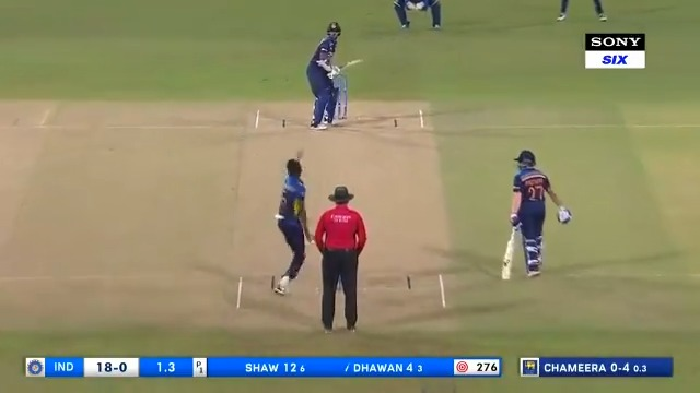 The glorious sixes 🙌🏽 The epic boundaries 👏🏽 The surprise wickets ☝🏽  Catch all the highlights from #INDvSL in the 2nd ODI match and through the 🏏 away tour right here on Twitter  https://t.co/HjWJS3kXCi