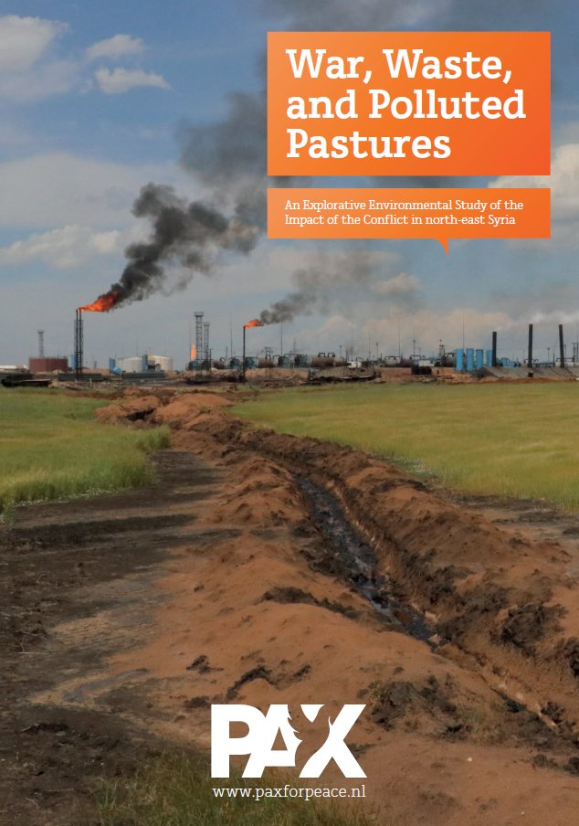 A new examination of the extent of environmental degradation in NE #Syria linked to its conflict, and in particular from the collapse of environmental governance.