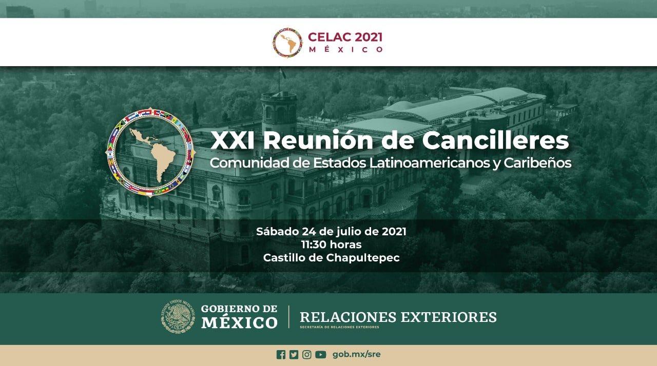 Listo México para XXI reunión de cancilleres de la Celac