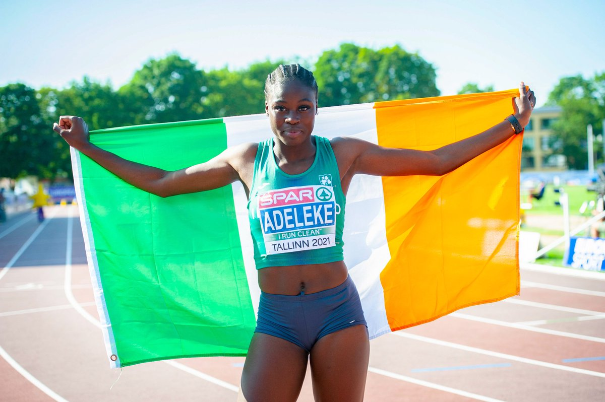 European 100m & 200m Champion😭🥳 Thank you to everyone who helped make this happen🤍 https://t.co/PhaKqbP1yZ