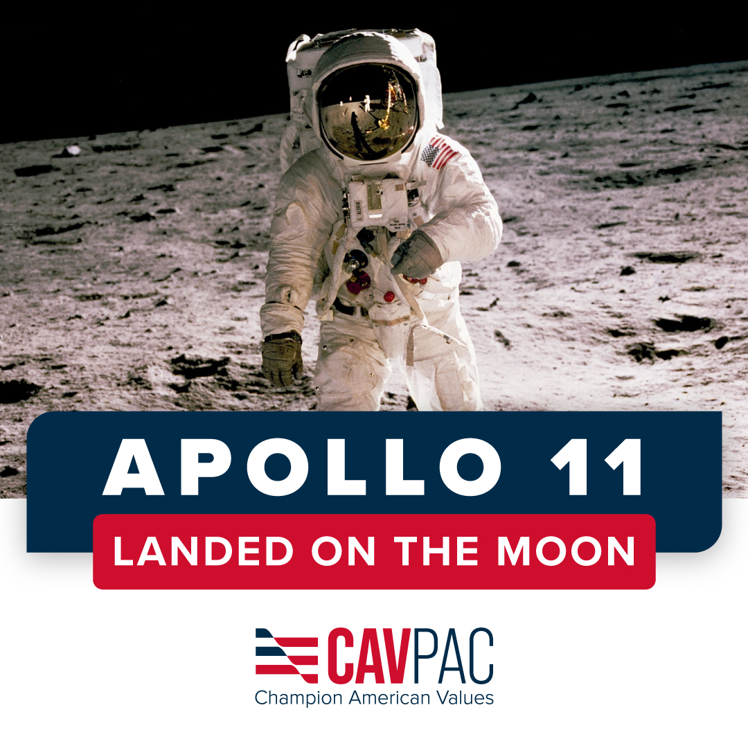 On this day in 1969, America once again made history by being the first country to land a man on the moon! Here is to many more years of leading and being the most exceptional nation in the world. https://t.co/9KGyrg4P9P