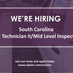 Image for the Tweet beginning: SEPI is hiring a CEI