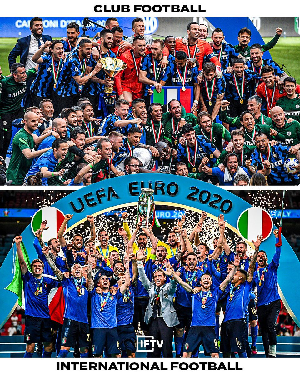 Which do you prefer - Club football OR International football? https://t.co/zXyuPVMHkv