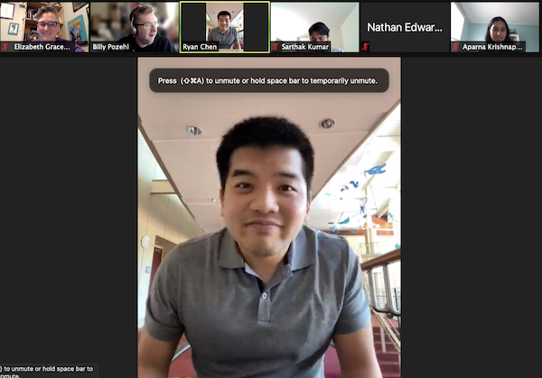 """Thank you to CHEPS, @UMIOE, and @umichsmtd alum, Ryan Chen, for an excellent virtual lunch and learn. He shared some insightful advice & answered the age-old question """"What do healthcare engineering and the NBA have in common?"""" https://t.co/eBslXKHbwQ https://t.co/pcnT5VO6dP"""