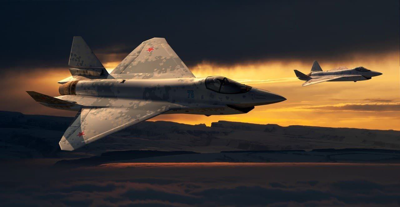 New combat aircraft will be presented at MAKS-2021 - Page 27 E6xJ0lAWUAA7kFm?format=jpg&name=large