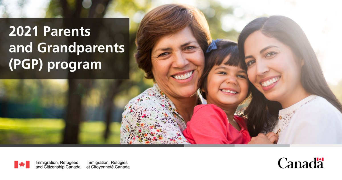 Are you planning to sponsor your parents or grandparents and bring them to Canada?   IRCC's Parents and Grandparents (PGP) Program is set to invite a record number of people to apply in 2021.   https://t.co/7btFYTx95i  https://t.co/kVXX1Ev5S0