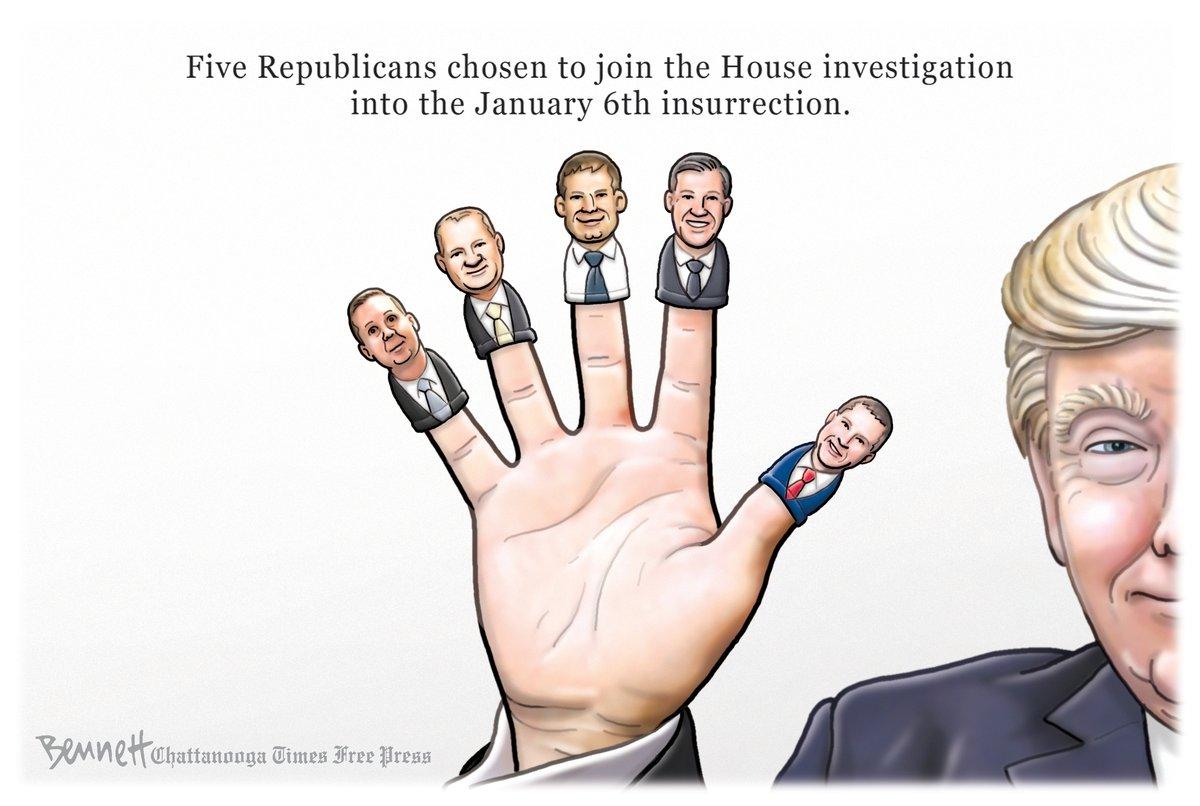 @BennettCartoons's photo on #GOPSeditionCaucus