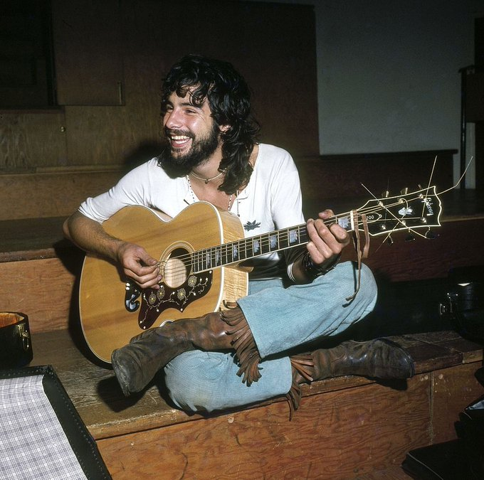 Happy Birthday to Cat Stevens who turns 73 years young today