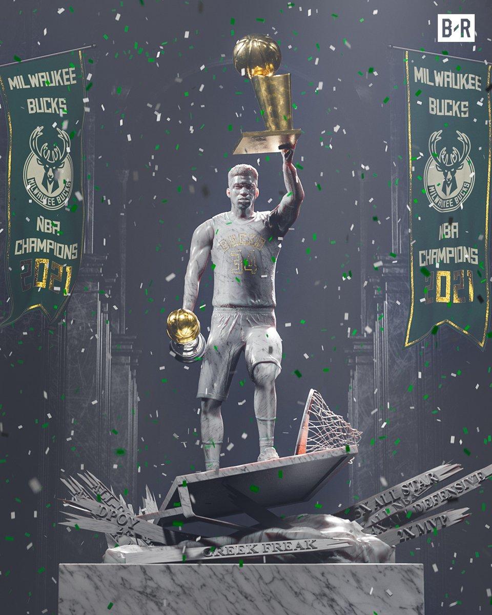 GIANNIS AND THE BUCKS WIN THE NBA CHAMPIONSHIP 🏆 https://t.co/TWzga4qj7y