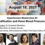 Image for the Tweet beginning: Hypertension Masterclass #3 webinar is