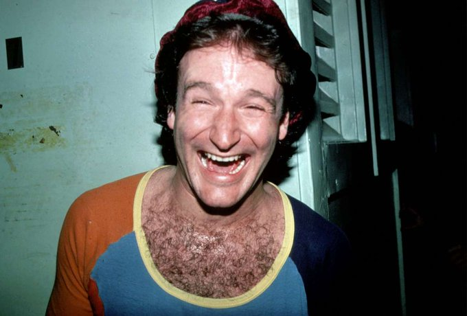 Today would\ve been Robin Williams\ 70th birthday. Happy birthday to one of the comedy GOATs!